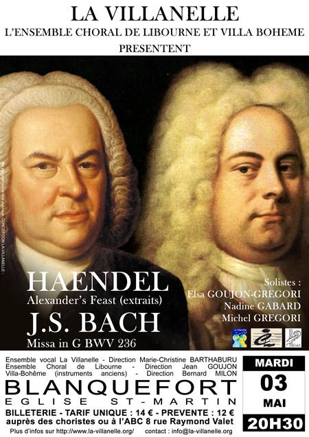 BACH et  HAENDEL&nbspAlexander's Feast