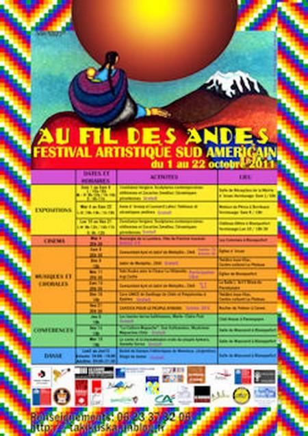 FESTIVAL&nbspAu fil des Andes