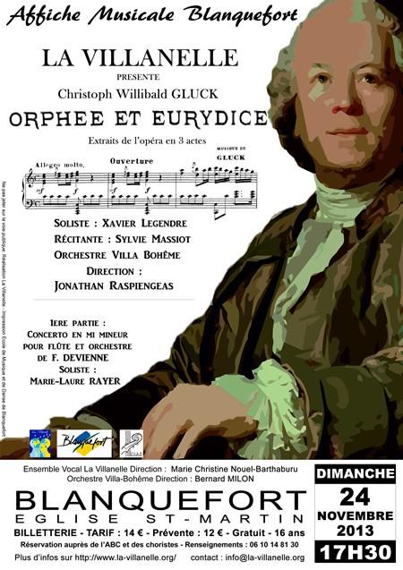 GLUCK Orphée et Eurydice (extraits)