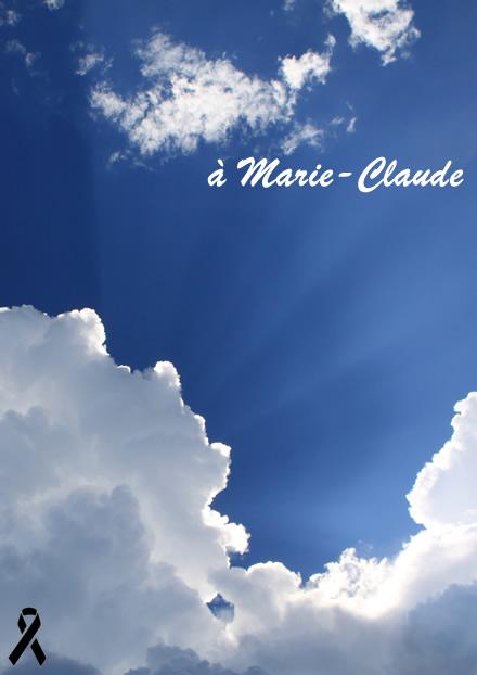Hommage à Marie-Claude